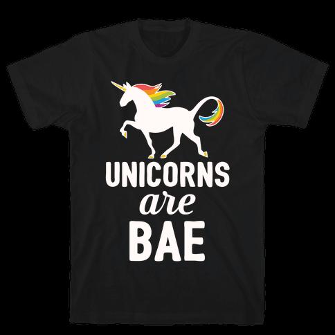 Unicorns Are BAE Mens T-Shirt