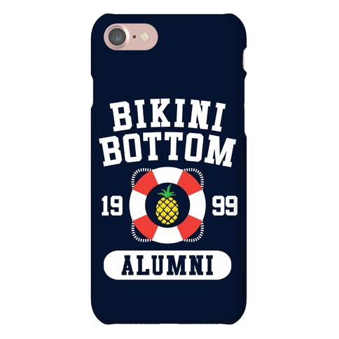 Bikini Bottom Alumni Phone Case