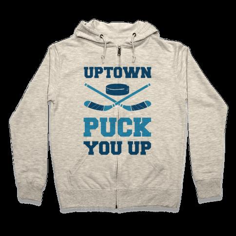 Uptown Puck You Up Zip Hoodie