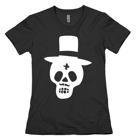 Skull Groom Womens T-Shirt