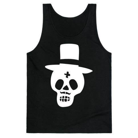Skull Groom Tank Top