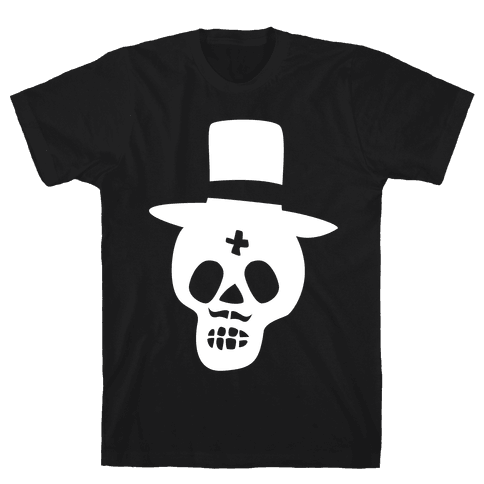 Skull Groom Mens T-Shirt