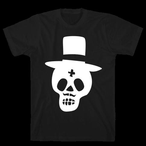 Skull Groom Mens T-Shirt