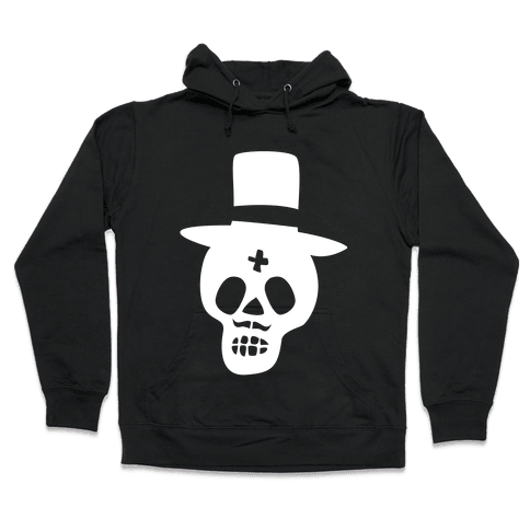 Skull Groom Hooded Sweatshirt