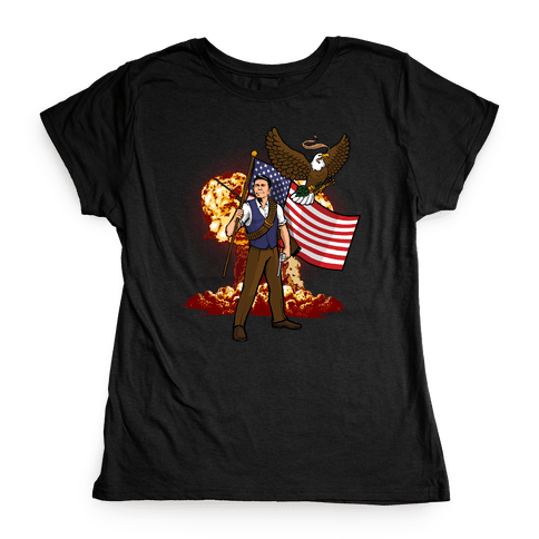 Complete and Total Reaganation Womens T-Shirt
