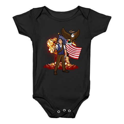 Complete and Total Reaganation Baby Onesy