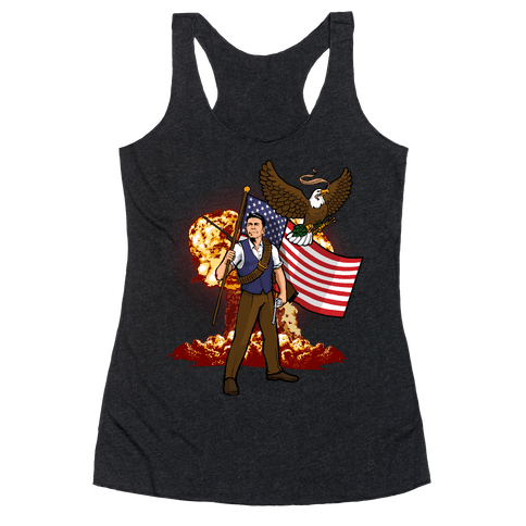 Complete and Total Reaganation Racerback Tank Top