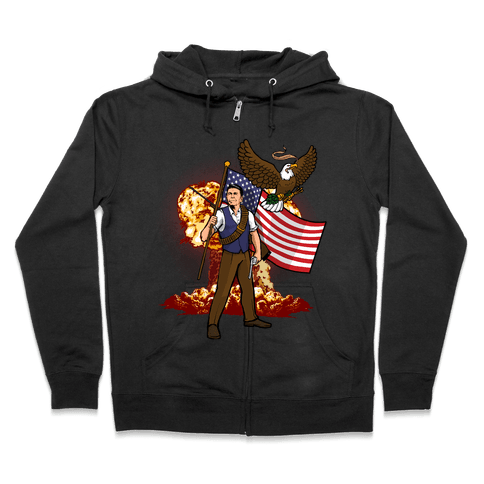 Complete and Total Reaganation Zip Hoodie