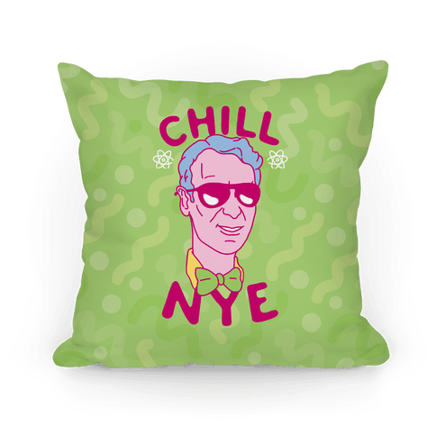 Chill Nye Pillow