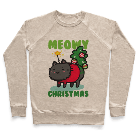 Meowy Christmas Pullover