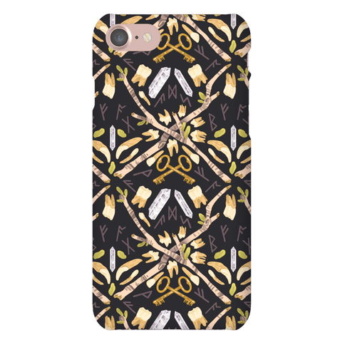 Occult Divination Pattern Phone Case