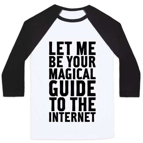 Magical Guide To The Internet Baseball Tee