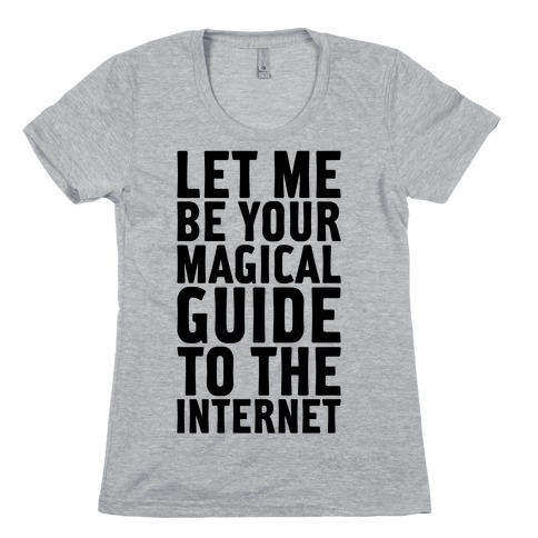 Magical Guide To The Internet Womens T-Shirt