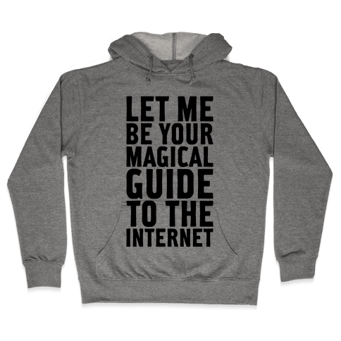 Magical Guide To The Internet Hooded Sweatshirt