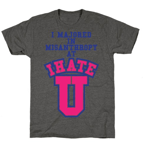 Misanthropy Major T-Shirt