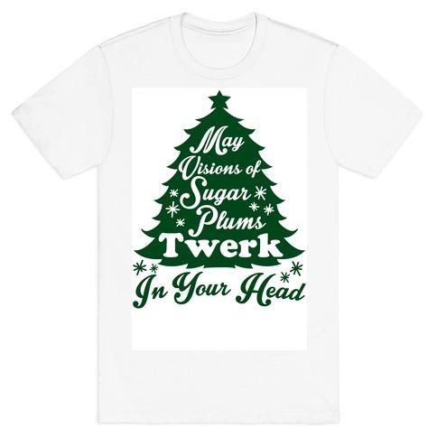 Sugar Plum Twerk Mens T-Shirt
