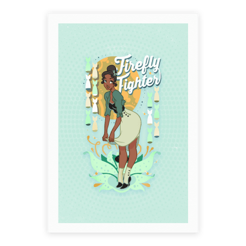 Firefly Fighter Tiana Poster