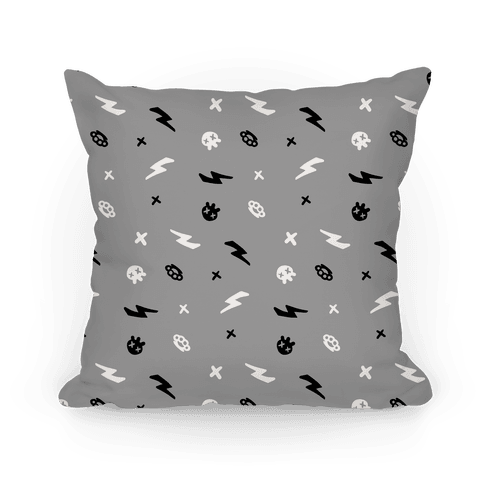 Punk Rock Pattern (Gray)