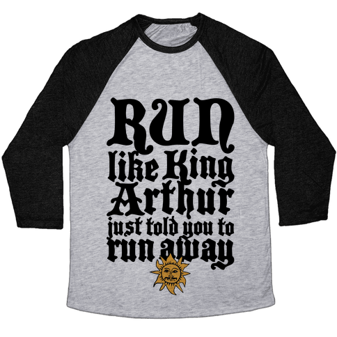 Run Away Baseball Tee