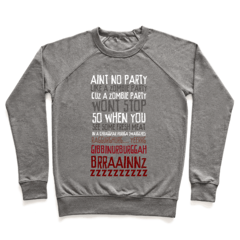 Zombie Party Pullover