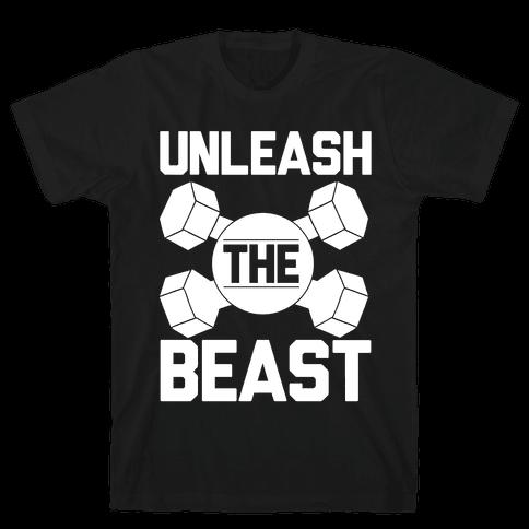 Unleash The Beast Mens T-Shirt