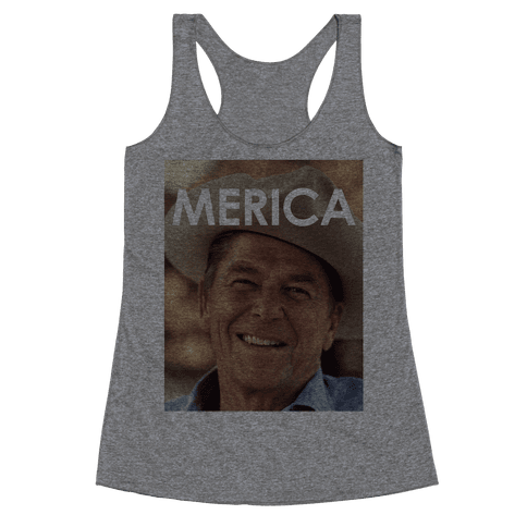 Reagan Merica Racerback Tank Top