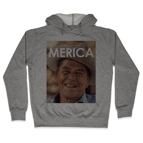 Reagan Merica Hooded Sweatshirt