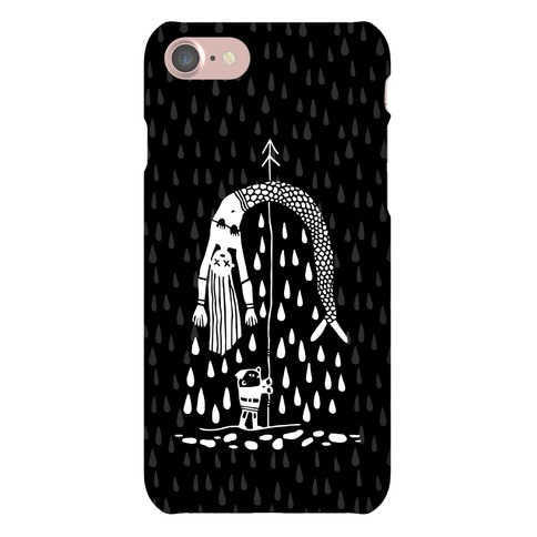 Mermaid Hunter Phone Case