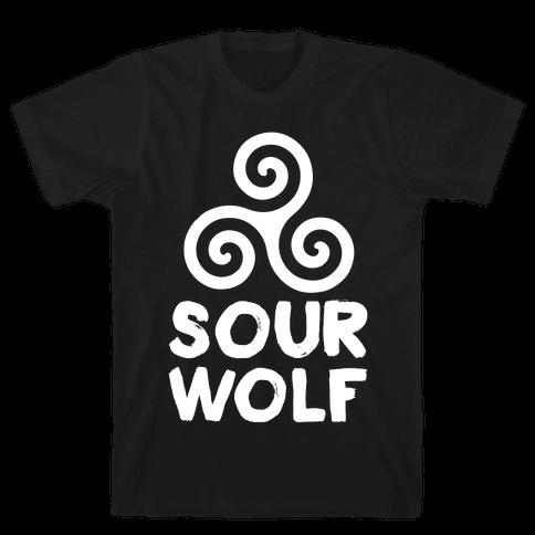 Sourwolf Mens T-Shirt