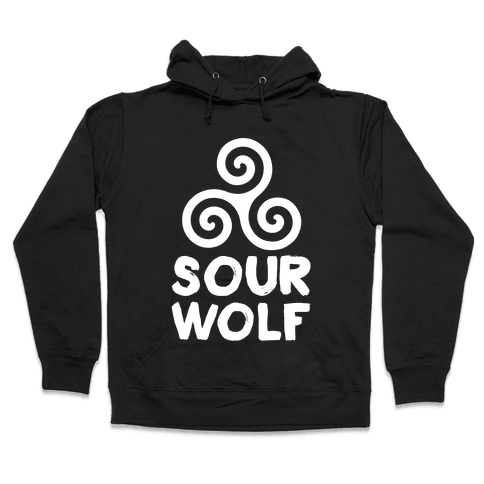 Sourwolf Hooded Sweatshirt