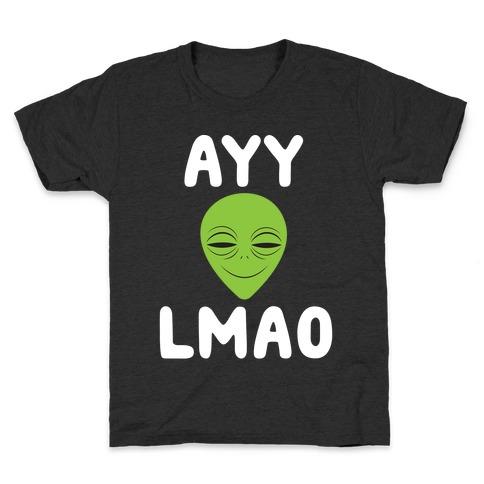 Ayy Lmao Kids T-Shirt