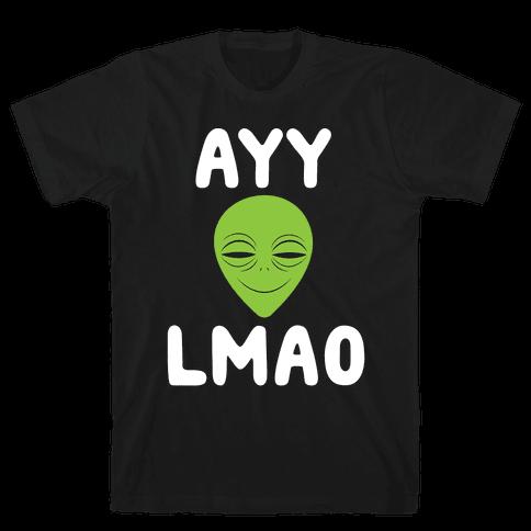 Ayy Lmao Mens T-Shirt