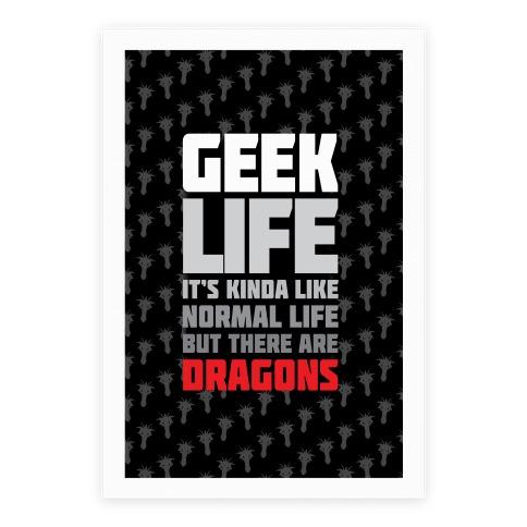 Geek Life Poster