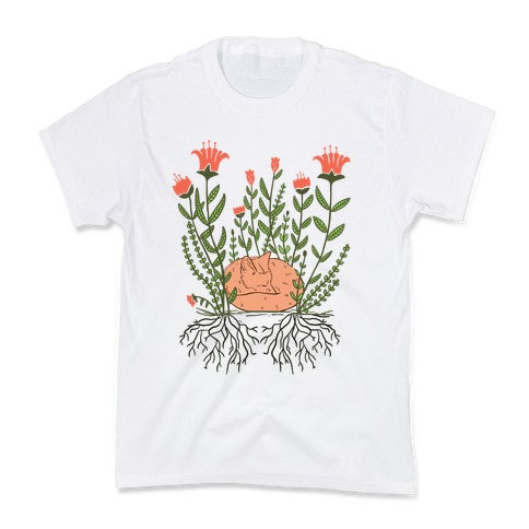 Sleeping Fox Kids T-Shirt