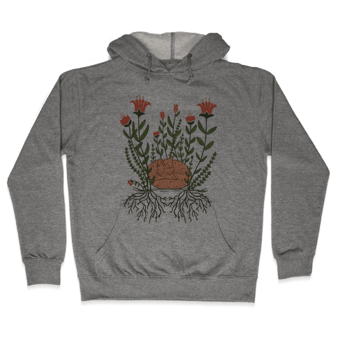 Sleeping Fox Hooded Sweatshirt