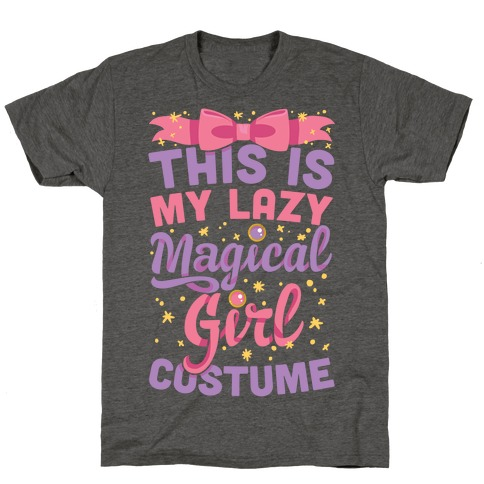 This Is My Lazy Magical Girl Costume T-Shirt