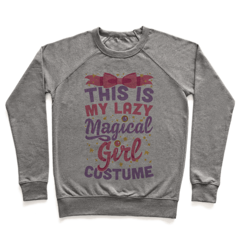 This Is My Lazy Magical Girl Costume Pullover