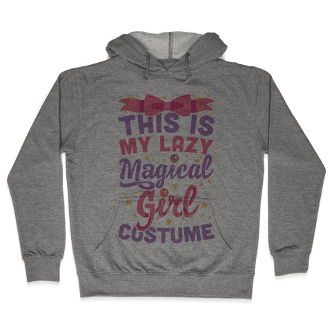 This Is My Lazy Magical Girl Costume Hooded Sweatshirt