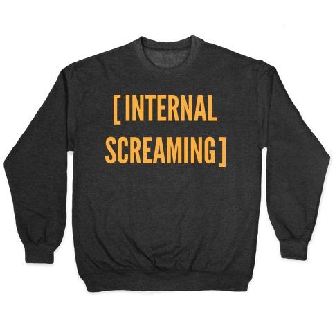 Internal Screaming Pullover