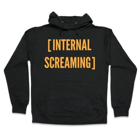 Internal Screaming Hooded Sweatshirt