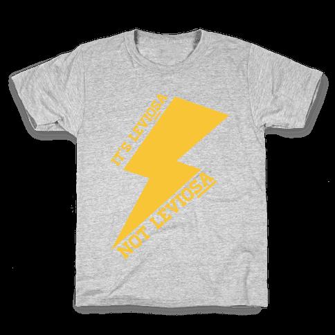 It's Leviosa Not Leviosa Kids T-Shirt