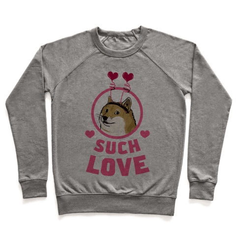 Doge: Such Love Pullover