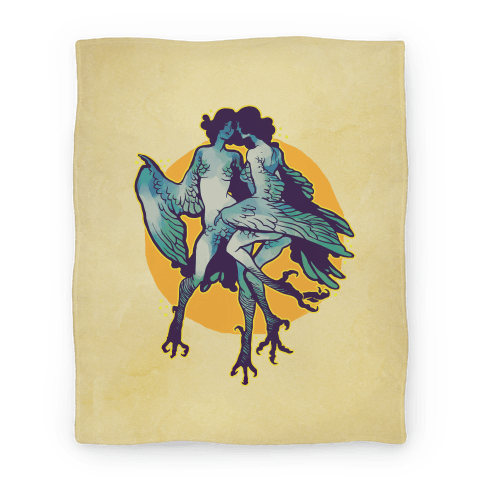 Harpy Monster Girls Blanket Blanket