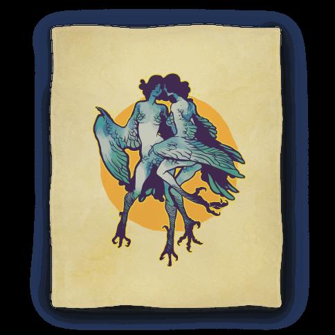 Harpy Monster Girls Blanket Blanket