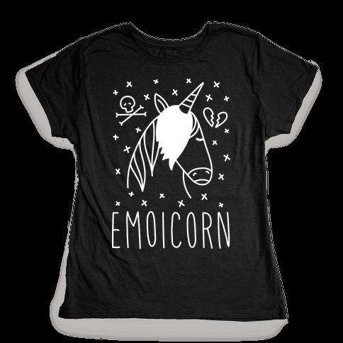 Emoicorn Womens T-Shirt