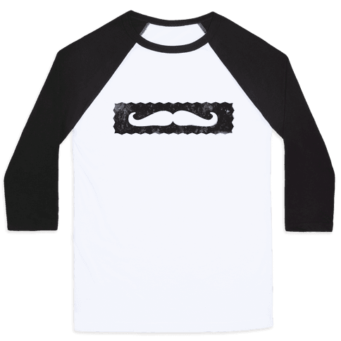 Show me your Stache' Baseball Tee