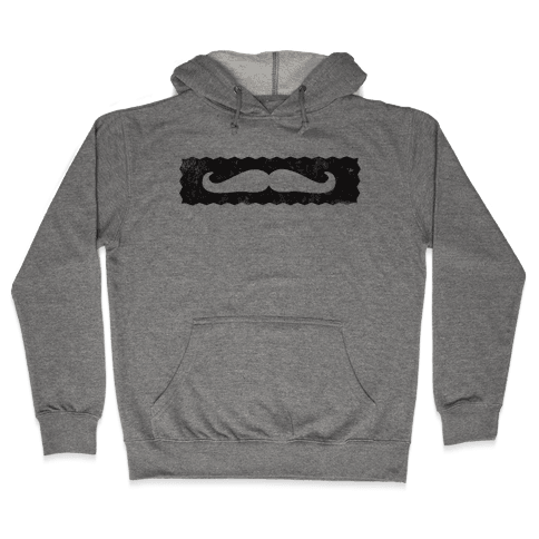 Show me your Stache' Hooded Sweatshirt