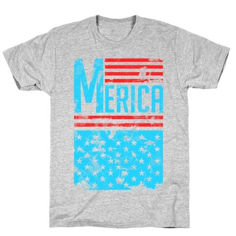 Merican Flag T-Shirt