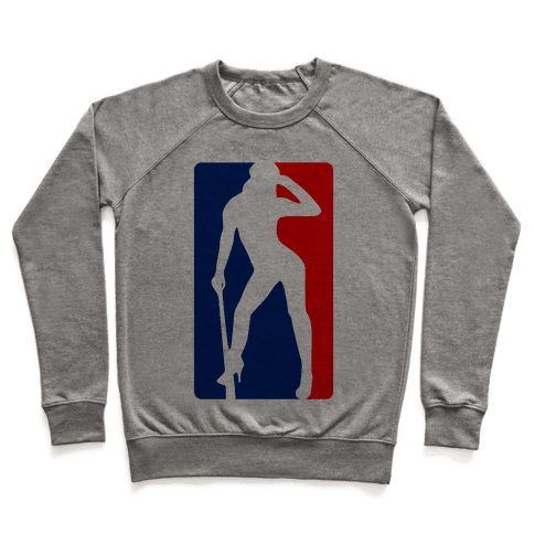 Cleat Chaser (Sexy NBA Logo Parody) Pullover