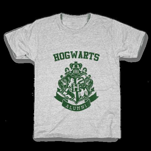 Hogwarts Alumni (Slytherin) Kids T-Shirt